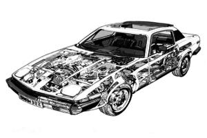 Triumph TR7 1975 - 1981
