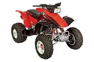 Honda Motorcycle TRX450R