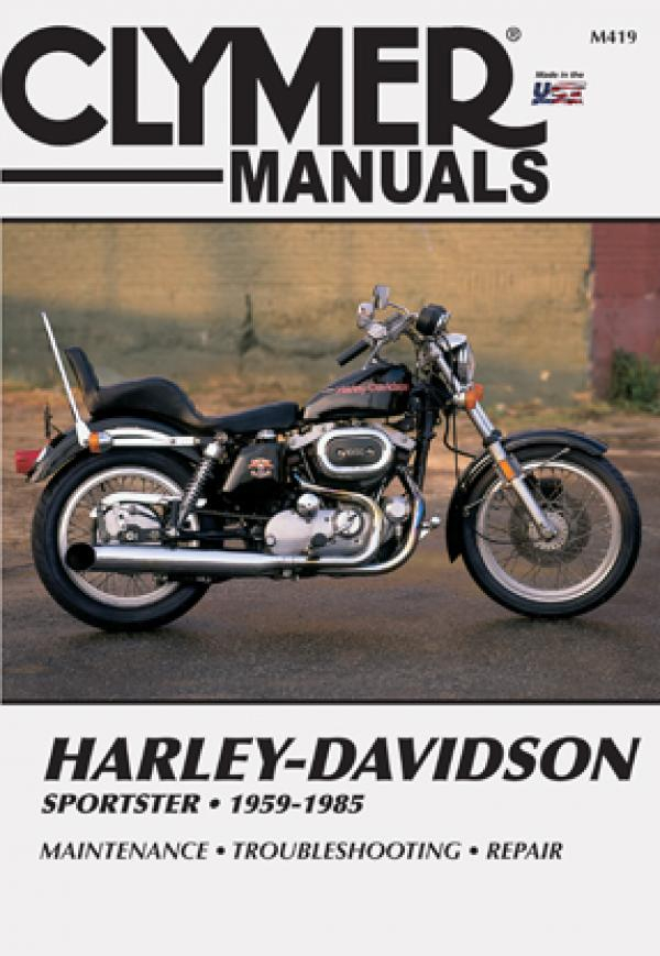 Harley-Davidson XLX Sportster (1983 - 1985) Repair Manuals on