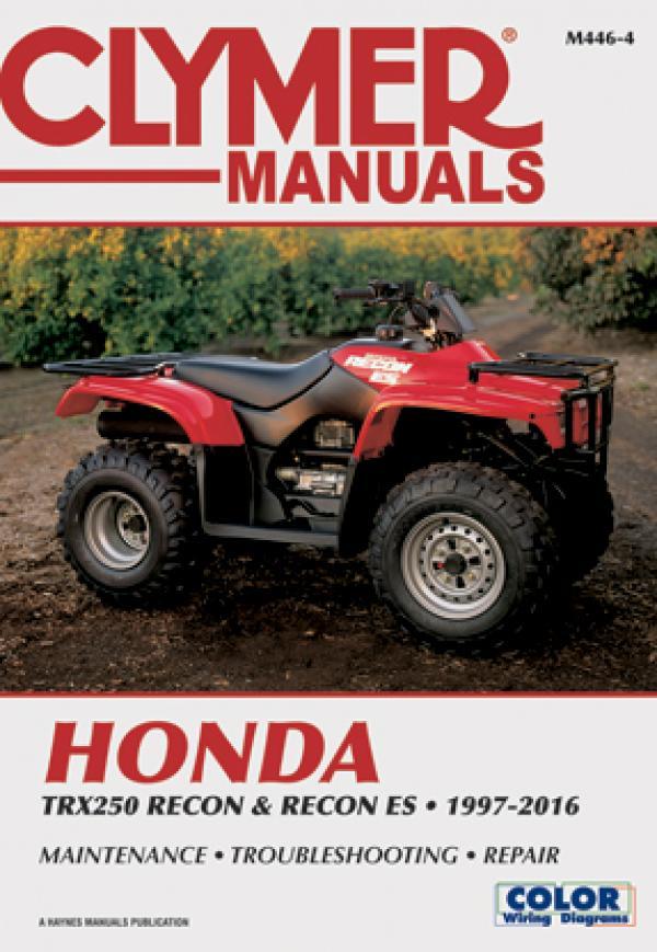 Honda TRX250 Recon & Recon ES (1997-2016) Service Repair Manual