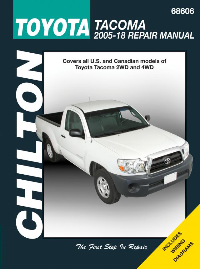 2005 tacoma wiring diagram toyota tacoma  2005 2018  chilton haynes manuals  toyota tacoma  2005 2018  chilton