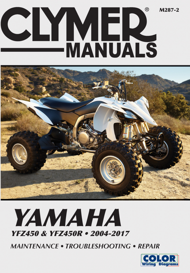 Yamaha YZF450R (2004 - 2013) Repair Manuals