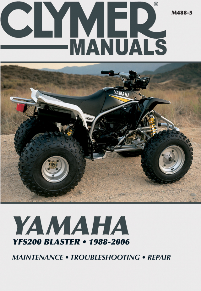 Yamaha YFS200 Blaster (1988 - 2006) Repair Manuals