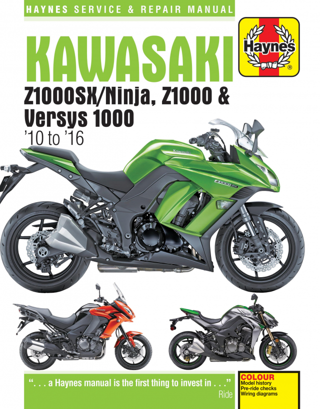 [TVPR_3874]  Z1000 | Haynes Manuals | Zx1000 Wiring Diagram |  | Haynes Manuals