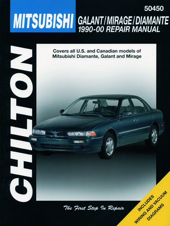 Mitsubishi Galant, Mirage & Diamante for (1990-00) Chilton Repair Manual (USA)