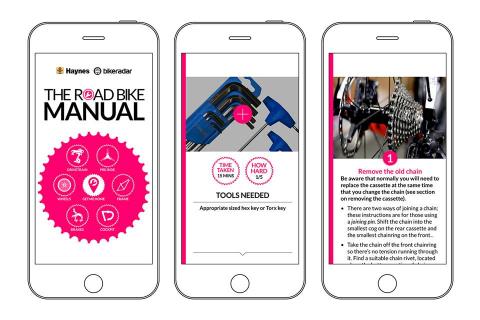 Bike App Screen Grab