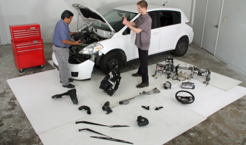 Nissan Versa Teardown