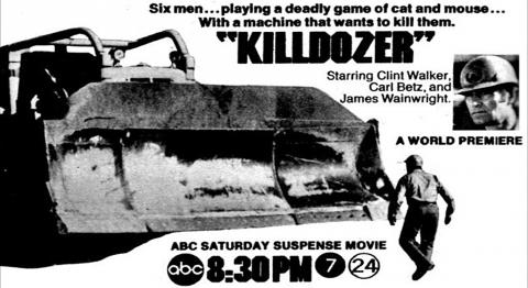 Killdozer TV guide ad