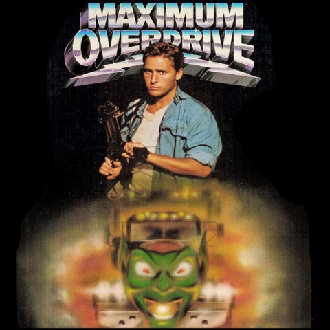 Maximum Overdrive DVD cover