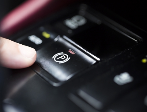 push button parking brake