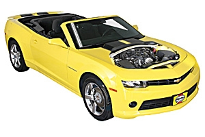 Air filter change Chevrolet Camaro 2010 - 2015 Petrol 6.2 V8