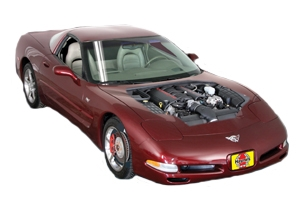 Checking tire pressures Chevrolet Corvette 1997 - 2013 Petrol 7.0 V8