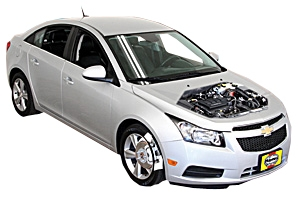 Engine oil and filter change Chevrolet Cruze 2011 - 2015 Petrol 1.4