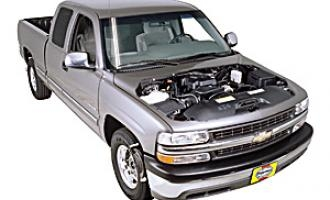 Checking oil level Chevrolet Silverado HD 2001 - 2006 Diesel 6.6 V8