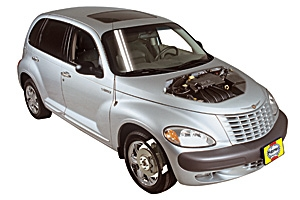 Opening the hood Chrysler PT Cruiser 2001 - 2010 Petrol 2.4