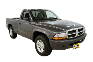 Opening the hood Dodge Dakota 2000 - 2004 Petrol 3.7 V6
