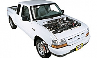 Checking coolant level Ford Ranger 1994 - 2009 Petrol 3.0 V6