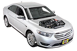 Checking screen wash Ford Taurus 2008 - 2014 Petrol 3.5 V6