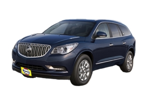Checking tire pressures Buick Enclave 2008 - 2015 Gas 3.6 V6