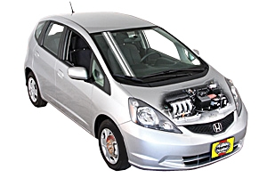 Checking oil level Honda Fit 2007 - 2013 Petrol 1.5
