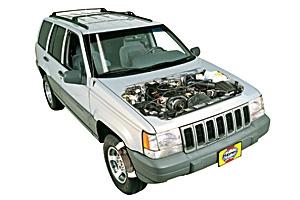 Battery Check Jeep Grand Cherokee 1993   2004 Petrol 4.7 V8