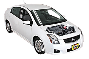 Checking steering fluid Nissan Sentra 2007 - 2012 Petrol 2.5
