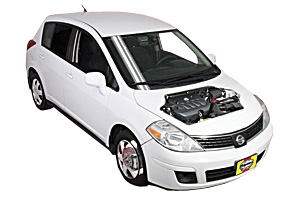 Roadside wheel change Nissan Versa 2007 - 2014 Petrol 1.8