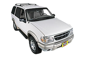 Opening the hood Ford Explorer 1991 - 2001 Petrol 4.0 V6