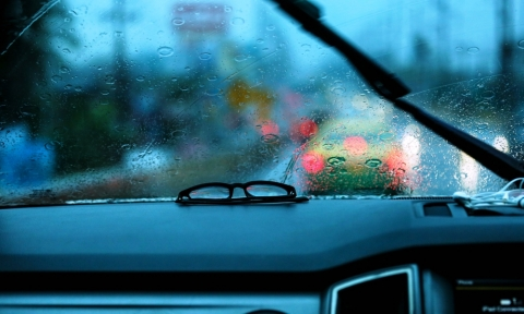 windshield wipers slapping up a tempo
