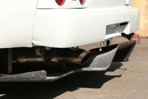 Aftermarket Exhaust on Nissan Skyline