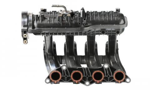 Typical 4 cylinder intake manifold