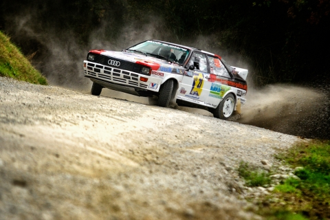 Audi Quattro AWD rally car
