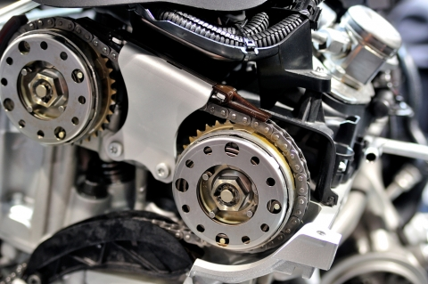 DOHC timing chain sprockets