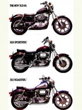 1983 Harley-Davidson Full Line Brochure
