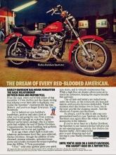 1979 Harley-Davidson Sportster magazine ad