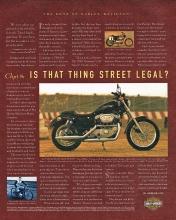1998 Harley-Davidson XL1200S Sportster Sport