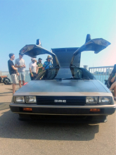 The Delorean represents the good and bad of 1980s cars