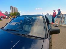Toyota JDM Trueno with period correct fans