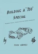 Building a 750 Special john haynes