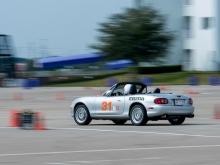 Mazda Miatta at SCCA Autocross