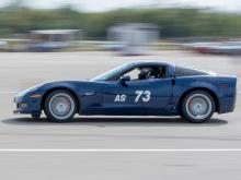 C6 Corvette at Autocross