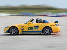 Honda S2000 Autocrossing