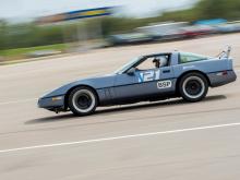 C4 Corvette at Autocross