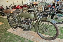 Harley-Davidson 1917 Military Model J motorcycle
