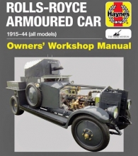 Haynes Rolls-Royce Armored Car Manual
