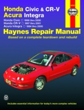 Haynes manual Honda Civic Honda CR-V Acura Integra 42025