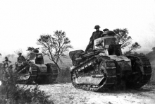 Renault FT tanks in WW1