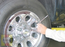 To extend the life of the tires, check the air pressure at least once a week with an accurate gauge