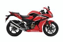 2017 Honda CBR300R Red