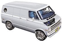 1986 dodge van models